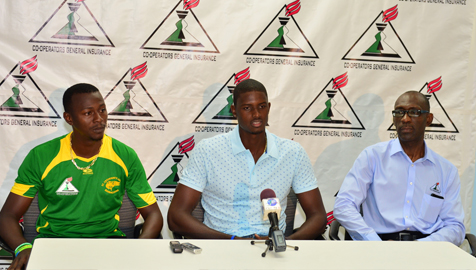 Mr. Jason Holder addresses Catherine's Cricket Club Cricketers.