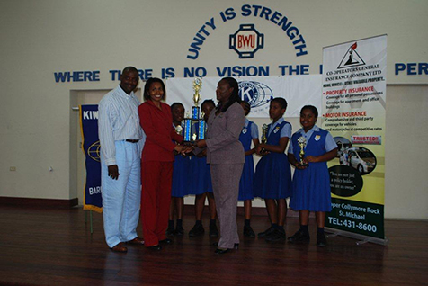 Kiwanis Club of Barbados Central Spelling B Competition